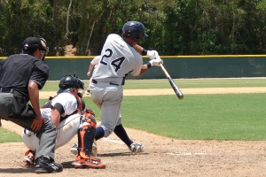 Jonathan Quinonez was 1 for 4 with 2 RBIs in his Stone Crabs debut