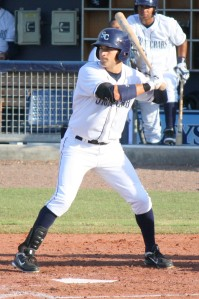 Kevin Kiermaier was with the Stone Crabs for much of the year in 2012.  (Photo:  Jim Donten)