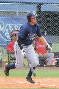 Drew Vettleson picked up the first Stone Crabs homer with a solo shot.