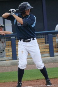 Playing before his hometown crowd, Taylor Motter delivered the game winning home run for the Stone Crabs.