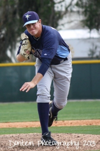 Kevin Brandt returned from his leg injury to throw two scoreless frames.