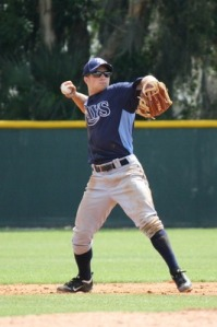 Ryan Brett made his 2013 debut with the Stone Crabs