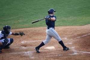 Jeff Malm had the sole RBI in the game.