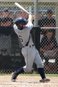 Justin O'Conner was a perfect 4 for 4 with a double and a home run in Friday's loss to Dunedin.