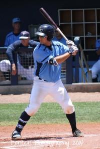 Maxx Tissenbaum had his first home run of the season in the fourth inning.