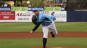 Blake Snell records the first no-hitter in franchise history.  (Photo: Charlotte Stone Crabs/AJ Riedel)