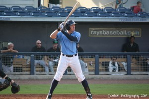Granden Goetzman made his 2015 Stone Crabs debut by going 1 for 2.  (Photo: Jim Donten)