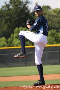 Roberto Gomez made a rehab start for the GCL Rays on Saturday.